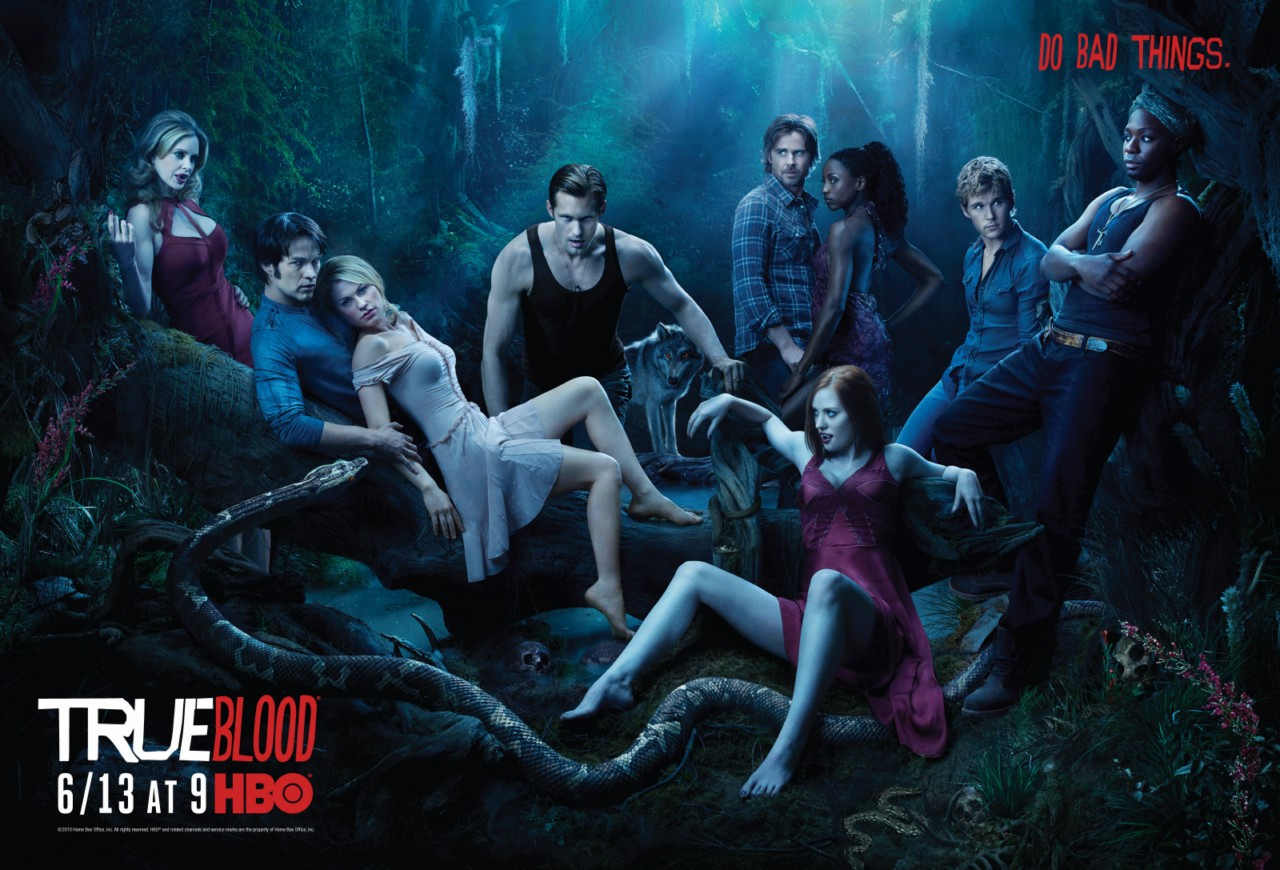 true blood season 3 poster. True Blood 3rd Season on HBO